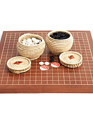 Royal St Two-Sided Dual-Use Chessboard Game Suits Chinese Chess Set2.5 Cm + Grass She Board Pot Of B Single New Cloud