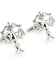 Men's Fashion Scale Alloy French Shirt Cufflinks (1-Pair)