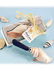1box Sea shells Resin Butter Spreader, Summer Beach, Nautical Wedding Favors Party décor Non-personalised