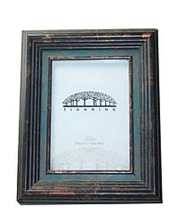 7 * madeira maciça 5 * 1 de 7 polegadas estilo europeu / americano Vintage picture frame