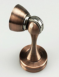 Zinc alloy red door stopper