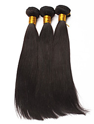 Slove Hair 7A Straight Virgin Hair 3 Bundles/Lot, Cheap Unprocessed Peruvian Hair Human Hair Bundles