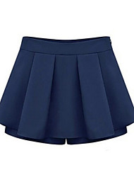 ZAY Women's All Match Casual Shorts with Skirt More Colors