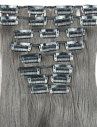 Wig Light Black 62CM High Temperature Wire Length Straight Hair Synthetic Hair Extension