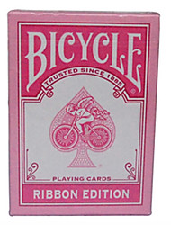 Pink Ribbon Bicycle Bicycle Poker Card Magic Poker Board Game Cards Pink 1 Generation Of (A)