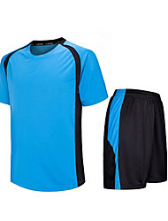 Kid's Soccer Shirt+Shorts Clothing Sets/Suits Breathable Quick Dry Spring Summer Fall/Autumn Winter Classic TeryleneExercise & Fitness