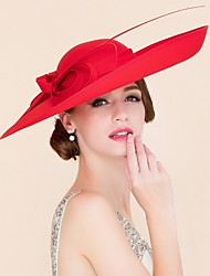 Women's Fabric Headpiece-Wedding / Special Occasion / Casual Hats 1 Piece