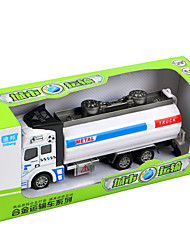 Dibang - toy car le dos du camion poubelle 01:48 alliage modèle de voiture jouet sprinkler sprinkler enfants (6pcs)
