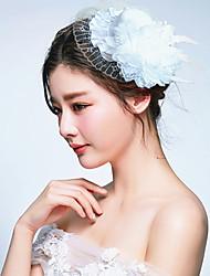 Women's Fabric Headpiece-Wedding / Special Occasion Birdal Fascinators 1 Piece