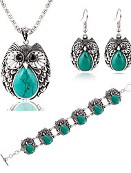 MOGE New Fashion Ladies Jewelry Sets / Necklace / Bracelet / Earrings
