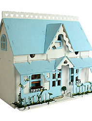 chi divertido DIY casa casas hut série cena romântica lodge x-009 dom idéias handmade