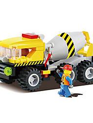 6112 barraca de venda de blocos de construção de brinquedos criativos brinquedos educativos para crianças (2 caixas)