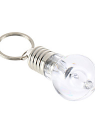 1Pcs  LED Flashlight Light Bulb Key Ring Keychain Lamp Torch
