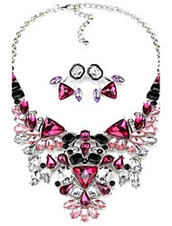 Alloy / Acrylic Jewelry Set Necklace/Earrings Party / Daily / Casual 1set