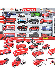 Dibang 079,016 models glide ratio alloy model car / one sixty-four fire Shantou toy car (2 setsPCS)