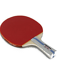 2 Stars Tennis Rackets Ping Pang Rubber Long Handle Pimples Indoor Outdoor