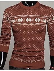 Men's Plaids Cardigan,Cotton Long Sleeve