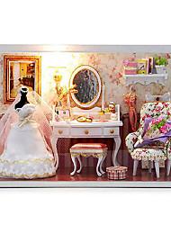 chi fun house hutte diy t-001 vous aime valentines créatives cadeau du jour maison pour toujours à main manuel