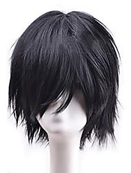 серый популярным короткие волосы парики волос волн синтетические волосы парики