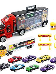Dibang -1812 avancé modèle de simulation de voiture en alliage portable alliage jouets des enfants d'inertie remorque avec 7 carspcs)