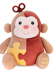 Metoo Microphone Rabbit Plush Toy Monkey  Sunpoo Monkey Mascot Creative Birthday Gift Puzzle 10.5-Inch Brown