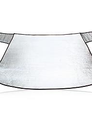 142 * 92cm de plata parabrisas burbuja de nido de abeja parasol sombra delante
