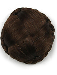 Kinky кудрявый коричневого европы невесты человеческих волос монолитным парики шиньоны g660232-л 2009