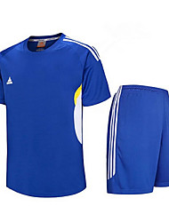 Others Men's Short Sleeve Soccer Clothing Sets/Suits Breathable / Quick Dry / Football / Running