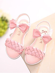 Girls' Shoes Casual Comfort PU Sandals Pink / Purple