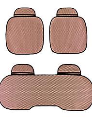 универсальный, пригодный для жизни автомобиль, грузовик, внедорожник или ван плоской ткани подушки сиденья автомобиля 3 части коричневого
