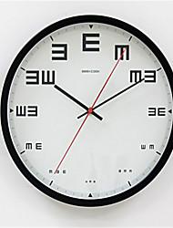 Anderen Modern/Zeitgenössisch Wanduhr,Anderen Metall 34*34*8