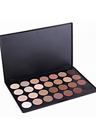 Pro 28 Full Color Eyeshadow Palette Eye Shadow Makeup Warm Cosmetics Contain Matte And Shine