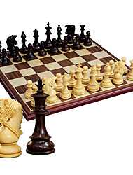 Royal St. Chess Pure Wooden Chess Set 5802 Wooden Chess Pieces + Star Anise