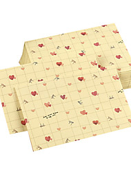 Sweet time love heart envelope(10 piece)