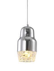 Modern/Contemporary LED Chrome Metal Acrylic Diffusor Pendant Lights Living Room/ Dining Room / Study Room/Office