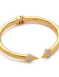Homens Casal Rapazes Bracelete Aço Inoxidável imitação de diamante Durável Moda Vintage Ajustável Preto Prata Dourado Jóias 1peça