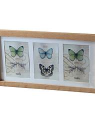 23,4 * 43,5 * 1 madeira maciça estilo europeu / americano Vintage picture frame