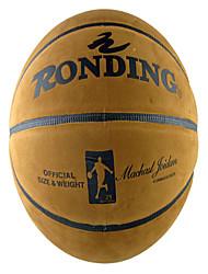 Basquete Bolas de tênis Á Prova-de-Água / Elasticidade Alta / Durabilidade Interior / Ao ar Livre / Espetáculo / Praticar Couro Ecológico