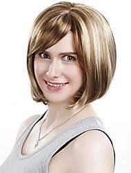 Women's Fashion Short Synthetic Hair Wigs Bob Short Straight Synthetic Hair Wigs