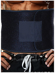 Abdomen Soporta Manual Paquete Caliente Ayuda a perder peso Dinámica Ajustable Tejido sweat belt