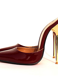 Women's Shoes PU Stiletto Heel Heels / Slippers / Pointed Toe Sandals Party & Evening / DressBlack / Red  / 1# /