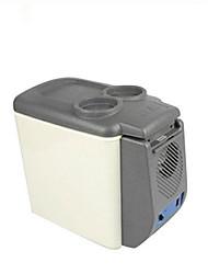 glacière voiture voiture réfrigérateur 6l refroidisseur de voiture boîte chaude portable mini-réfrigérateur de voiture