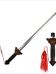 Bronze Chinese Kung Fu Taiji Tai Chi Sword Retractable Performance Exercise
