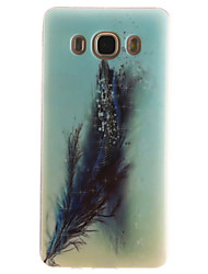 Für Samsung Galaxy Hülle IMD Hülle Rückseitenabdeckung Hülle Feder Weich TPUTrend 3 / J7 (2016) / J5 (2016) / J5 / J1 (2016) / J1 Ace /