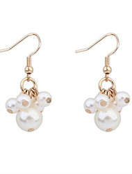 Drop Earrings Women's Imitation Pearl / Alloy Earring Imitation Pearl