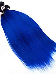Омбре Перуанские волосы Прямые 18 месяцев 3 предмета волосы ткет