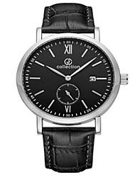 MEGIR® Men's Leather Band 30M Water Resistant Dress Sports Watch Jewelry Fashion Wrist Watch Cool Watch