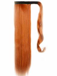 коричневый 60см синтетический высокая температура проволоки парик прямые волосы конский хвост цвет 119