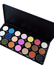 21 Lidschattenpalette Trocken / Matt / Mineral Lidschatten-Palette Puder NormalAlltag Make-up / Feen Makeup / Smokey Makeup / Party