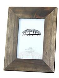 6 * 4 * 1 6 дюймов твердой древесины Европейский стиль / Americano марочные картинная рамка
